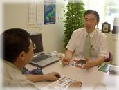 経理担当者に懇切丁寧な会計・税務処理指導を行います。